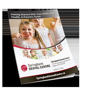 child oral health guide cover
