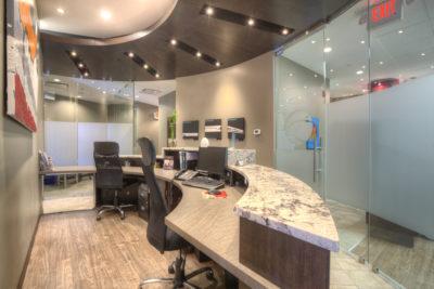 calgary dentist front desk