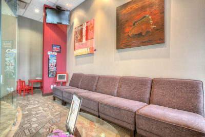 dentist lobby inspiring oral care